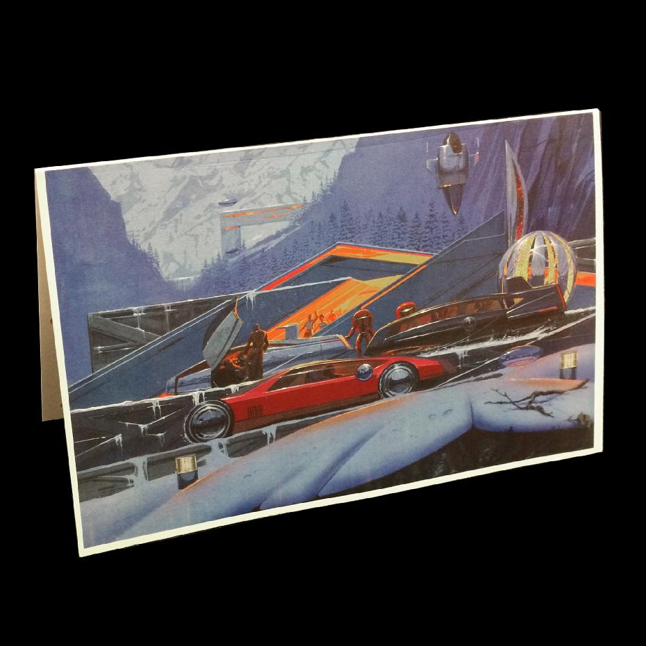 Syd Mead Christmas Card #4