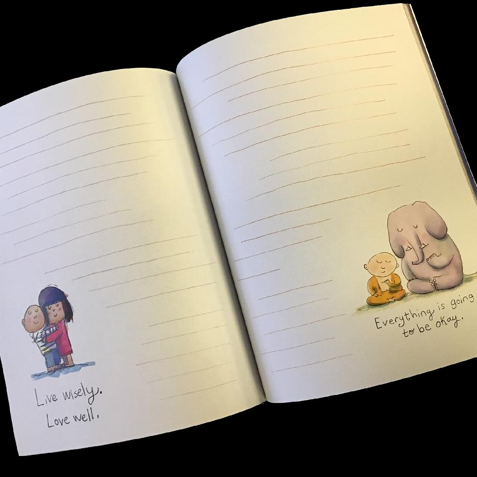 Buddha Doodles - Gratitude Journal