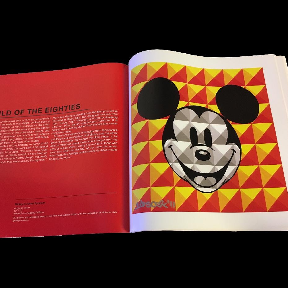 The Art of Tennessee Loveless: The Mickey Mouse TEN x TEN x TEN Contemporary Pop Art Series