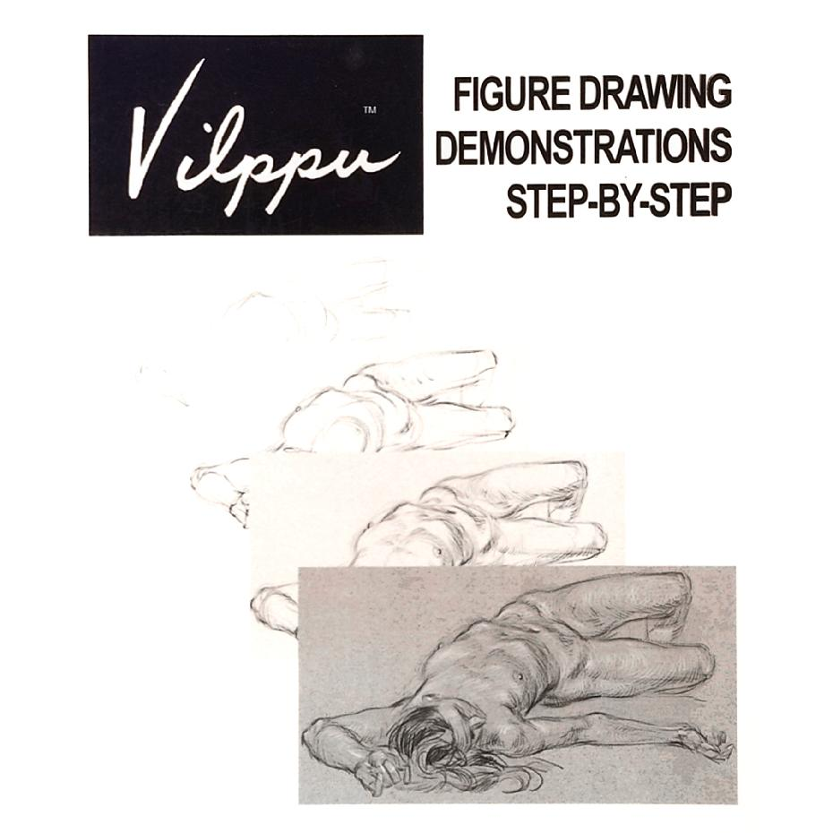 Figure Drawing Demonstrations Step-By-Step