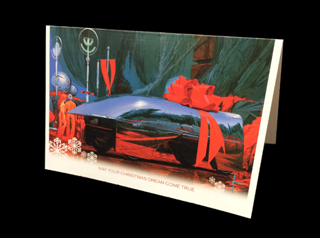 Syd Mead Christmas Card #3