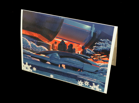 Syd Mead Christmas Card #2