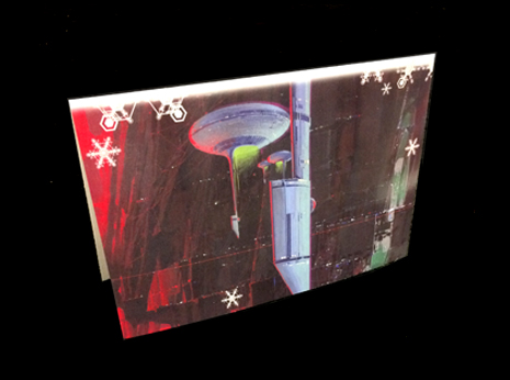 Syd Mead Christmas Card #1