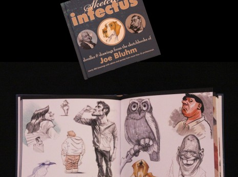 Sketch Infectus- Doodles & Drawings from the sketchbooks of Joe Bluhm