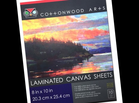Canvas Block P2 8x10