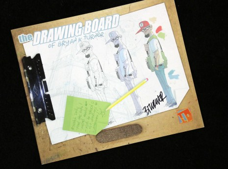 The Drawing Board of Bryan K Turner