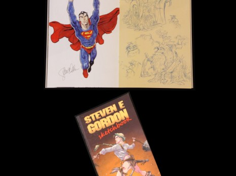 Steven E Gordon Sketchbook 2014