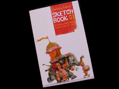 Sketchbook 01: Sketches, observations, character design tips & more...