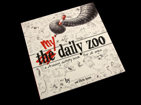 My Daily Zoo- A Drawing Activity Book for all ages