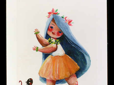 Hula Girl (Small)