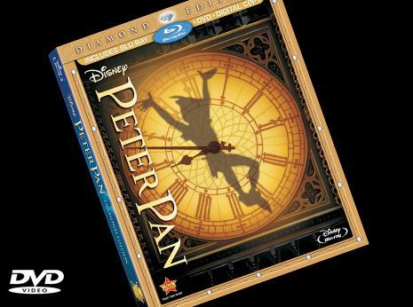 Peter Pan (Diamond Edition) DVD/Blu-ray