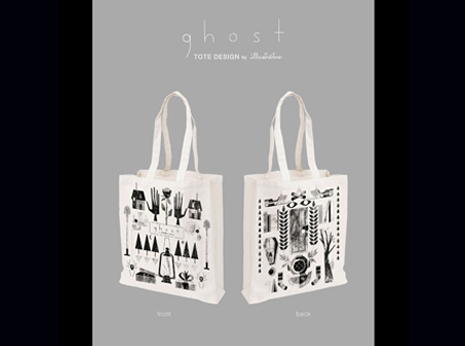 Ghost Tote - PREORDER