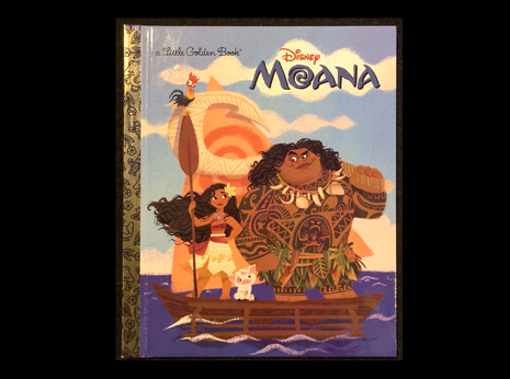 The Little Golden BookDisney Moana