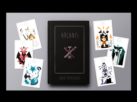 (Pre-Order Special Exhibit Pricing) ARCANIS Tarot Deck