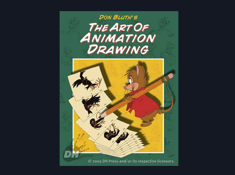 Don Bluth's The Art Of Animation Drawing (Rare)